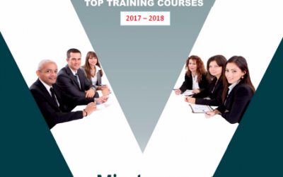 Training course catalogue for in-house training.
